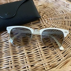 Ray•Ban Mother of Pearl Clubmaster Sunglasses